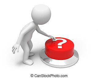 Find answers - A man is pushing the button