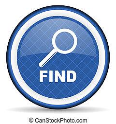 find blue icon