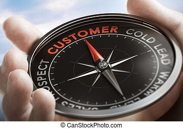 Find New Customers, Lead conversion.