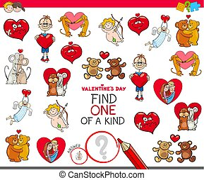 find one of a kind Valentines character