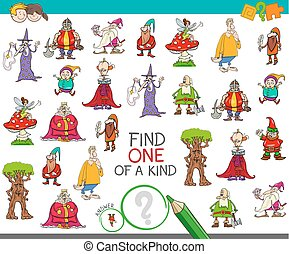 find one of a kind with fantasy characters