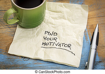 find your motivator advice