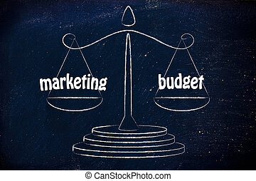 finding a good balance in business: marketing & budget...
