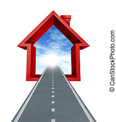 Finding A Home - Finding a home and real estate business...