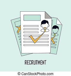 finding job concept