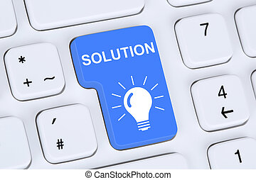 Finding solution for problem conflict button on computer -...