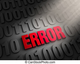 Finding The Error In The Data