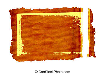 findings frame 2 - frame of a layered detailed texture of an...