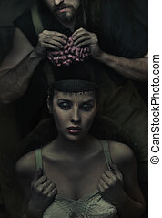 Fine art image from the series of work : Experimental beauty shop