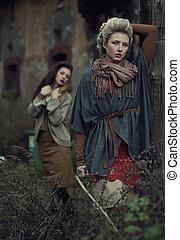 Fine art photo of a beauty ladies