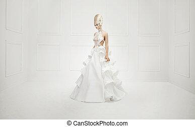 Fine art photo of a dreamy blonde