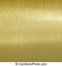 Fine brushed golden texture