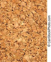 fine closeup image of cork texture background