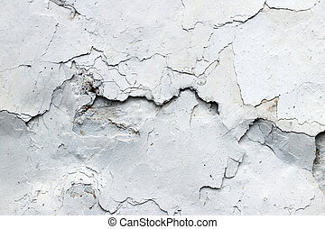 Fine cracks in the plaster - compound fissure - grunge texture