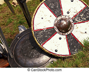 ancient shield - fine image of ancient shield medioeval...