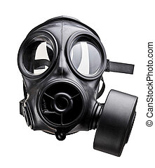 gas mask - fine image of classic british army gas mask