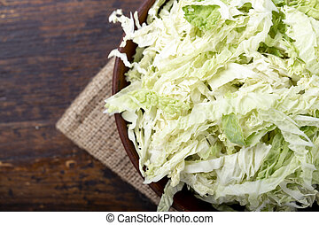 finely chopped cabbage