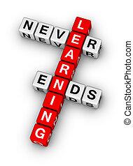 fines, nunca, aprendizaje