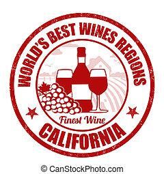 finest, california, vino