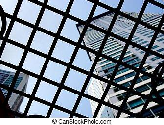 finestra, 2, ferro