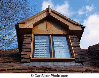 finestra abbaino home pi vecchio foto cerca foto