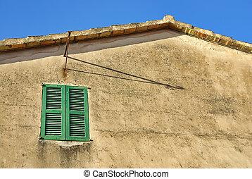 finestra, mediterraneo