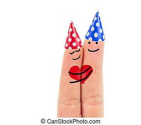 finger, liebe