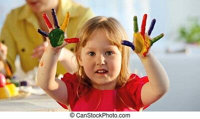 finger, mehrfarbig