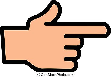 finger point clipart vector and illustration 25 143 finger point rh canstockphoto com clipart fingers pointing clipart fingers pointing