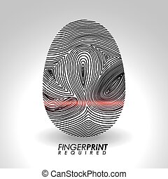 Finger Print design