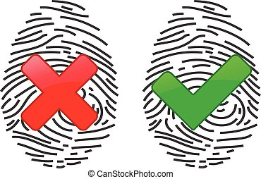 Finger-print Scanning Identification System. Biometric...