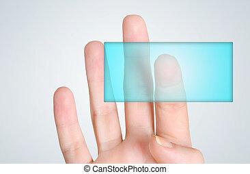 Finger touch