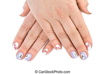fingernagel mit liebe muster - Muster Fingernagel