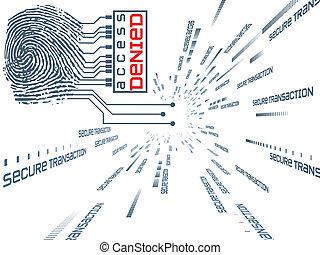 Fingerprint Access - Interplay of fingerprint, digital...