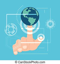 fingerprint authentication digital technology connection