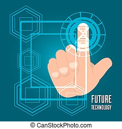 fingerprint authentication digital technology connection