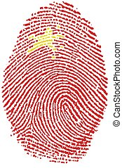 Fingerprint - China - My Fingerprint for China passport