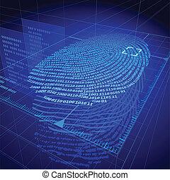 Fingerprint - Digital fingerprint identification system. ...