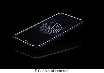 Fingerprint identification. - Fingerprint identification on...