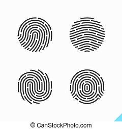 Fingerprint isons