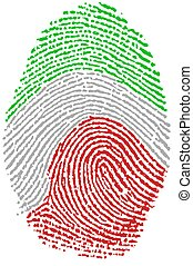 Fingerprint - Italy - My Fingerprint for Italian  passport
