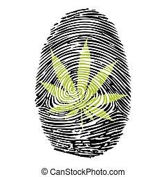 fingerprint-marijuana