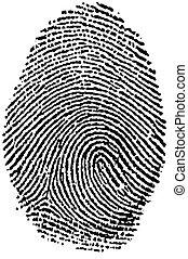 Fingerprint - My - My Fingerprint - in black state