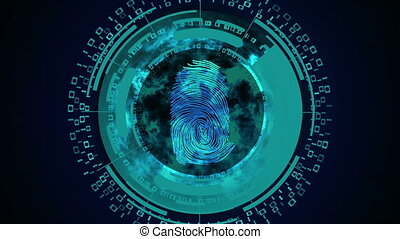 Fingerprint recognition or fingerprint authentication. Cyber...