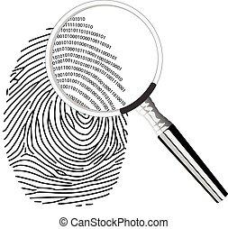 fingerprinting, digitale