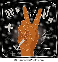 fingers., 签署