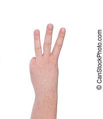 fingers., trois