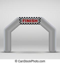 finish arch