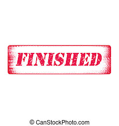 finished stamp