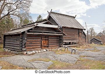 finlandés, aldea